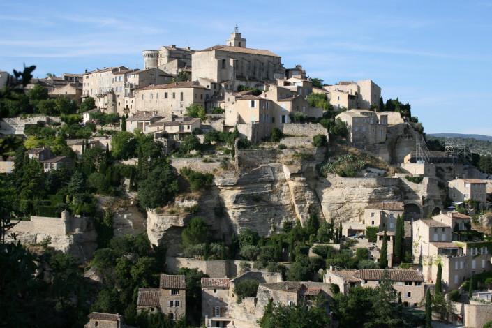 Village of Gordes (20 minute drive)