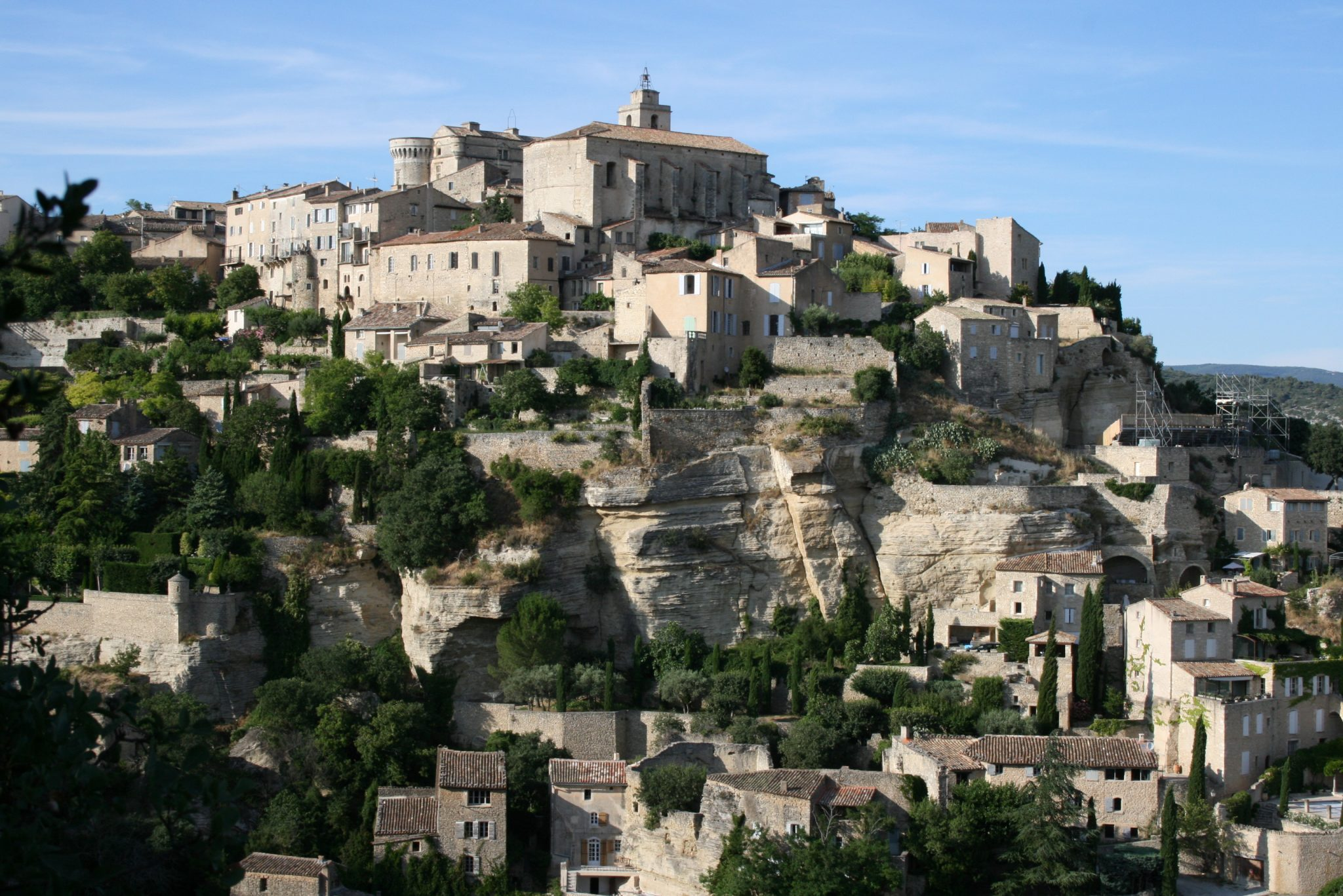 Village of Gordes (20 minute drive)